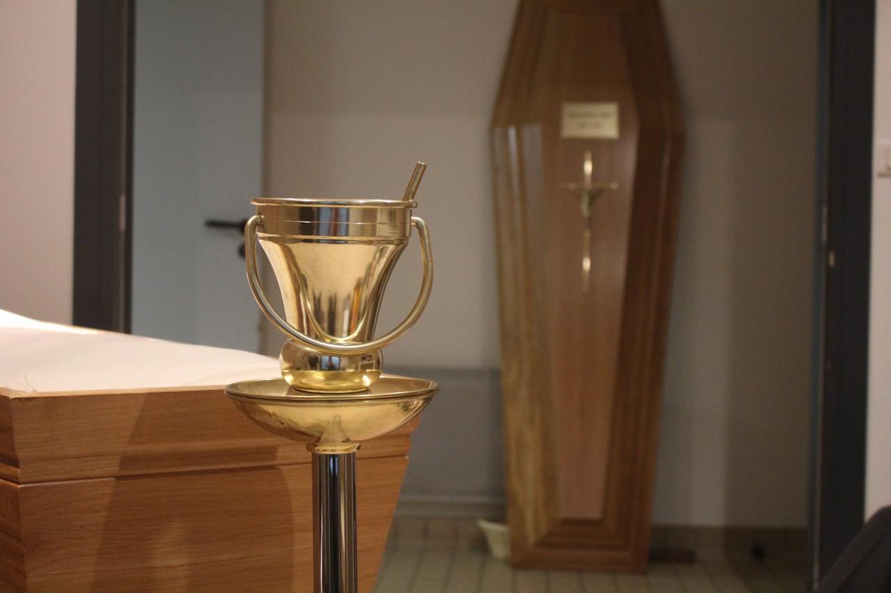 Bénitier Adieu au visage - Caritas Obsèques